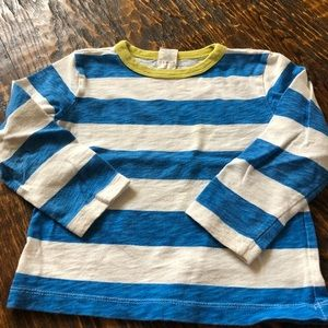 JCrew boys LS T-shirt 2T